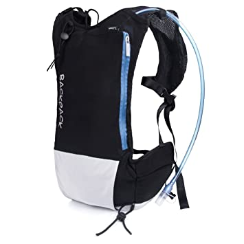 BEST88 Hydration Pack Lightweight Backpack with 2L Water Bladder Daypack Best  Outdoor Gear for Running Hiking 7f0608e4a6aaa