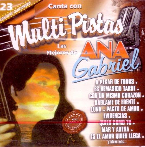 Canta con Multi Pistas: Las Mejores de Ana Gabriel