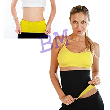 91b7d2c9f Buy New Neoprene Hot waist shaper belt Body Shaper Vest Band Neotex Body  Sweat Fat Burn Tummy Reduce Online at Low Prices in India - Amazon.in