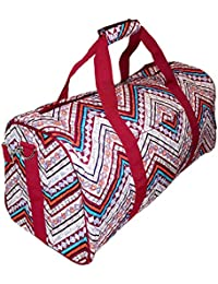 Quilted 22 inch Duffel Duffle Bag - Custom Embroidery Available