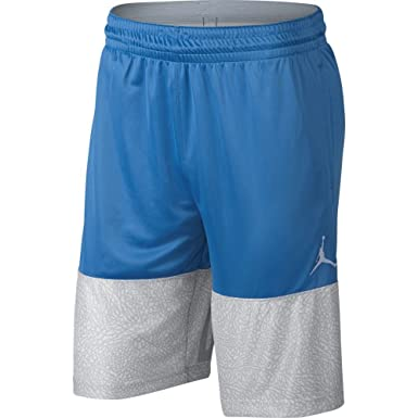 b460ff893b6bc0 Jordan Shorts - Classic Blockout Basketball Blue White Blue Size  XL  (X-Large)  Amazon.co.uk  Clothing