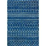 "nuLOOM Moroccan Blythe Area Rug, 5' x 7' 5"", Blue"