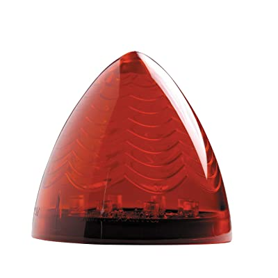 "Maxxima M16800R 8 LED Red 2.5"" Beehive Clearance Marker Light: Automotive"