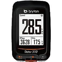 Bryton, Rider 310H, Computer GPS con Sensore Frequenza Cardiaca, Unisex - Adulto, Nero