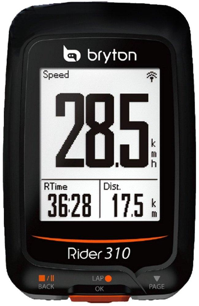 Bryton Rider 310C Velocímetro Computador GPS, Unisex Adulto, Negro, Talla Única Talla Única