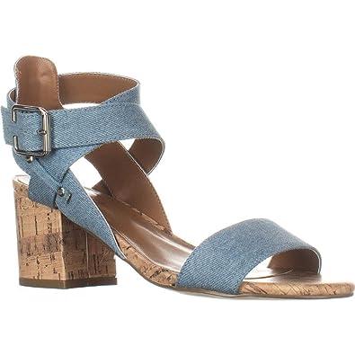 Indigo Rd. Womens Elea3 Fabric Open Toe Casual Ankle Strap 2128e38c161