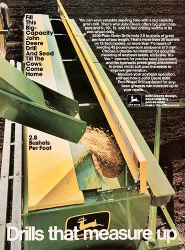 Review 1980 Ad John Deere