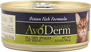 Avoderm Canned Cat Food Ocean Fish -- 5.5 oz