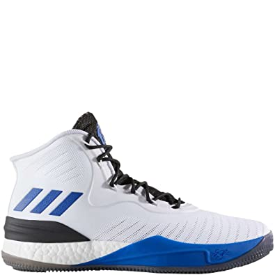adidas D Rose 8 Mens Fashion-Sneakers CQ0830 White Size: 8 ...