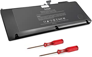 Suliper A1382 Replacement Laptop Battery Compatible for MacBook Pro 15 inch A1286 (only for Early2011,Late 2011,Mid 2012 Years), fits for MC721LL/A MC723LL/A 661-5844 020-7134-A