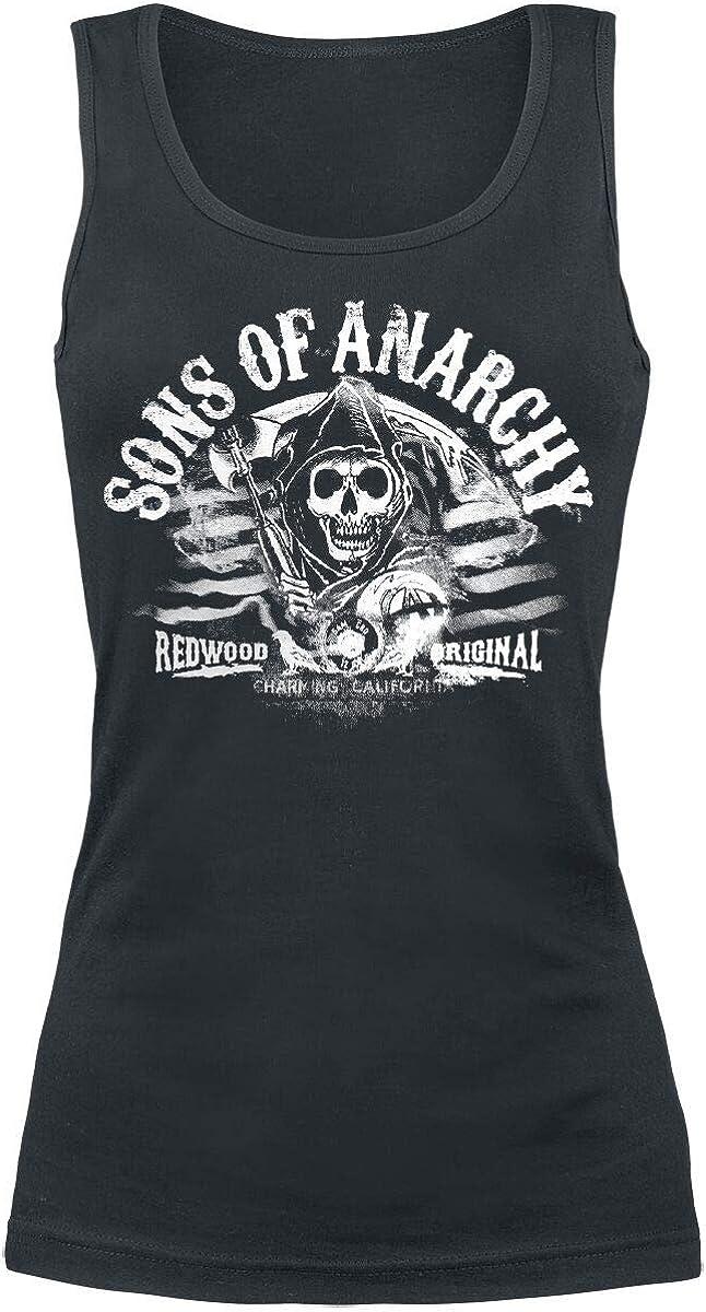 Sons of Anarchy Redwood Original Top Nero