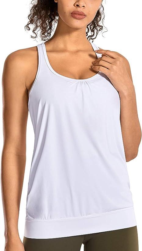 Abbigliamento Donna Yours più taglie bianco Canotta