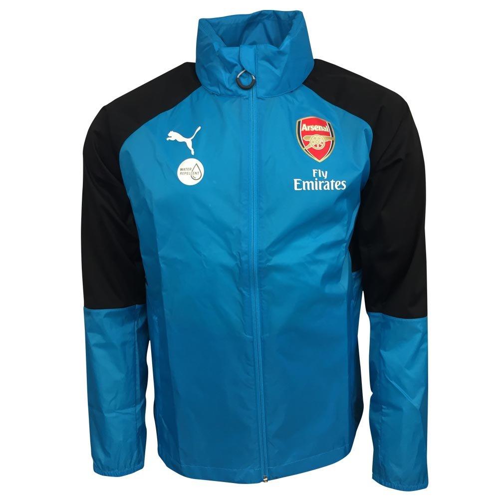 Puma 2017-2018 Arsenal Rain Jacket (Blau)