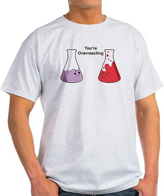 Seguro que estás exagerando CafePress; Gracioso de química T-camiseta de manga corta de destello de luz T-camiseta de manga corta: Amazon.es: Ropa y accesorios