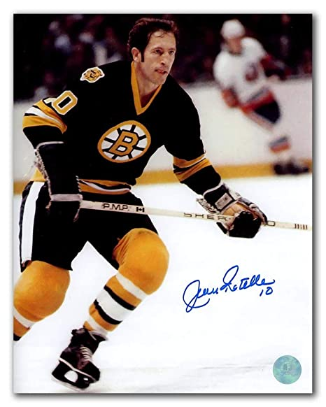 Image Unavailable. Image not available for. Color  Jean Ratelle Boston  Bruins Autographed Autograph Hockey ... 953d69fc1