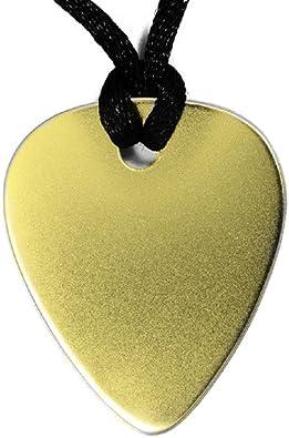 PÚA DE Oro Guitarra 18 Kilates 750 milésimas (Colgante con Agujero ...
