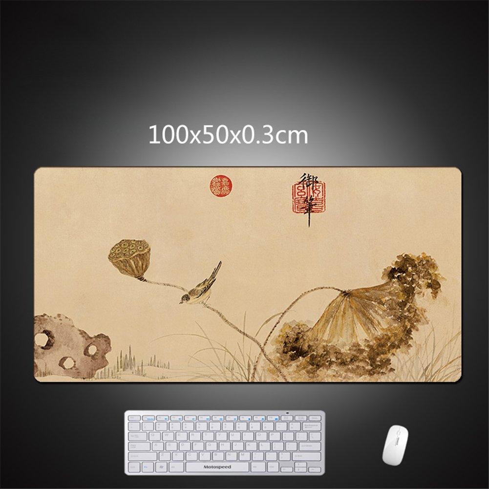 LL-COEUR Gaming Mouse Antideslizante Mat Grand Juego Mousepad Antideslizante Mouse Alfombrilla de Ratón Escritorio 1000 x 500 x 3 mm (color 11) 303588
