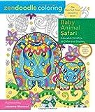 Zendoodle Coloring: Baby Animal Safari: Adorable Wildlife to Color and Display