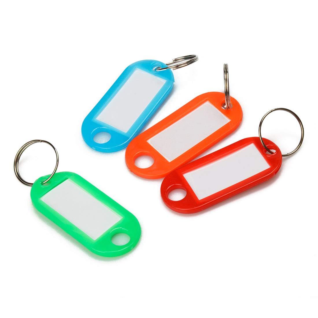 Amazon.com: Etiquetas de plástico para llaves con ventana ...