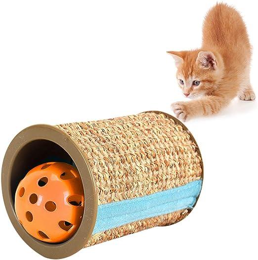 Legendog Juguete Scratch para Gatos Juguete Scratch Tupe para Gatos Jaula para Gatos Juguete para Jugar con Gatos Juguete Teaser para Gatos con Bola De Campana: Amazon.es: Productos para mascotas