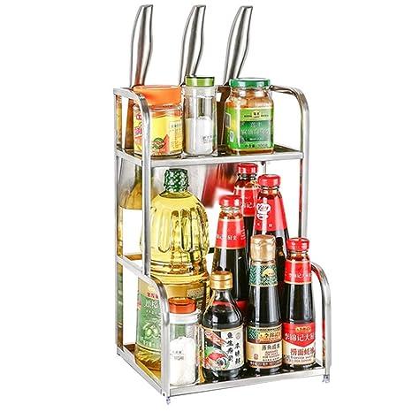 Especiero Cocina Racks de Especias pequeños para gabinetes ...
