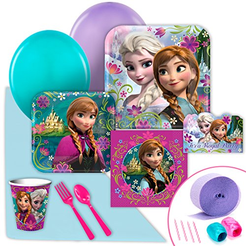Disney Frozen Party Supplies - Value Party Pack