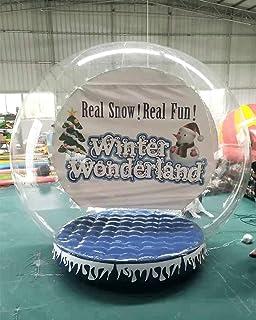 Amazon.com: Decoración navideña hinchable bola de nieve ...