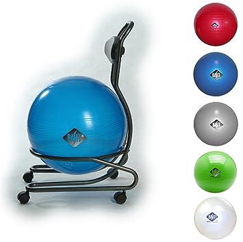 BASIT® Comfort Gesundheitsstuhl Bürostuhl + Gymnastikball ...