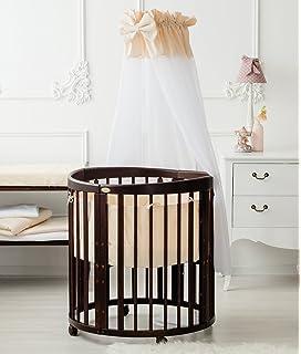 Stokke Sleepi Babybett Kinderbett Minibett Oval Rund