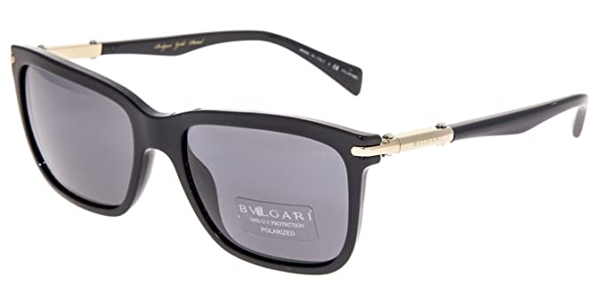089a8a7377 Amazon.com  BVLGARI Le Gemme Men BV7028K Black Gold 18K Plated ...