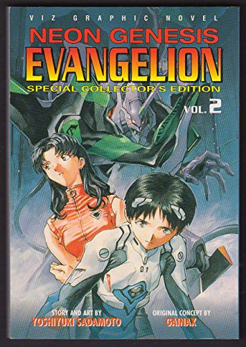 Neon Genesis Evangelion 2 Collector's Edition manga comic book 3rd printing 2002 from The Jumping Frog