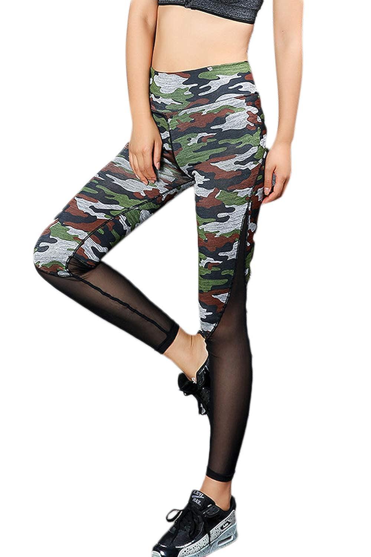 Zilcremo Pantalones De Yoga Para Mujer Leggings De Cintura ...
