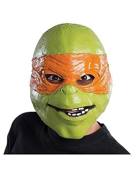 mascarilla para niños Tortugas Ninja Michelangelo: Amazon.es ...