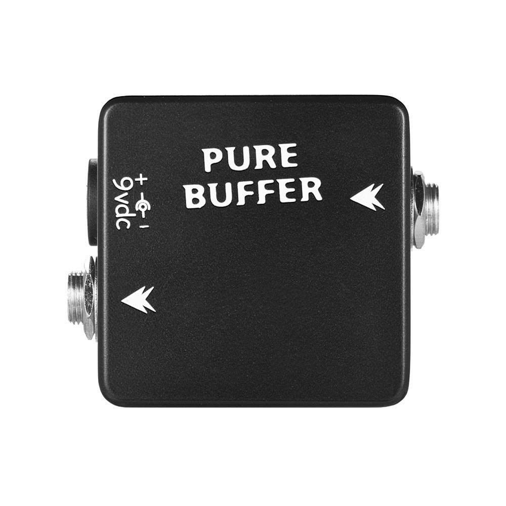 muslady Buffer Effect Pedal pour guitare Buffer mosky pur Full Metal Shell