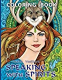 Speaking With Spirits Coloring Book for Adult
