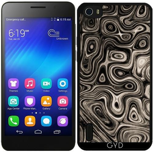 Funda de silicona para Huawei Honor 6 - Esfera Ajena, Oscuro by Insanity Expressed
