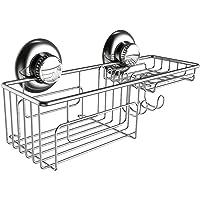 Gecko-Loc Deep Shower Shelf Caddy Storage Basket