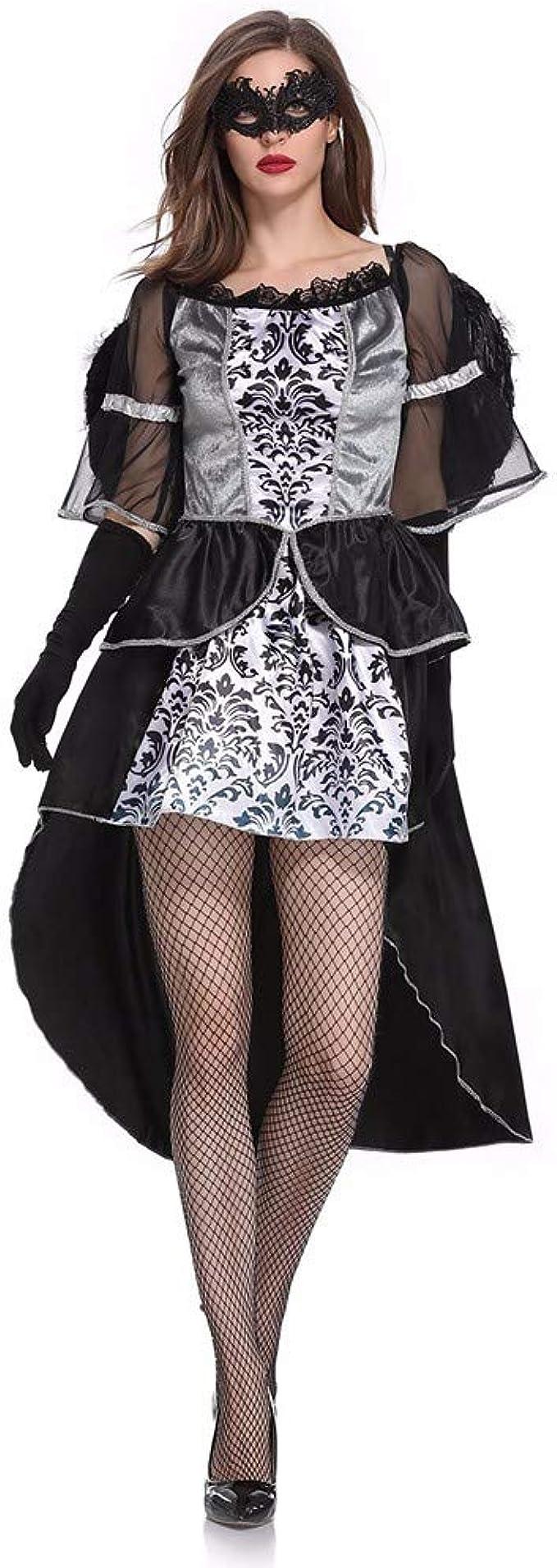 Goosun Disfraz De Dama De Halloween Ángel Oscuro Vestido ...