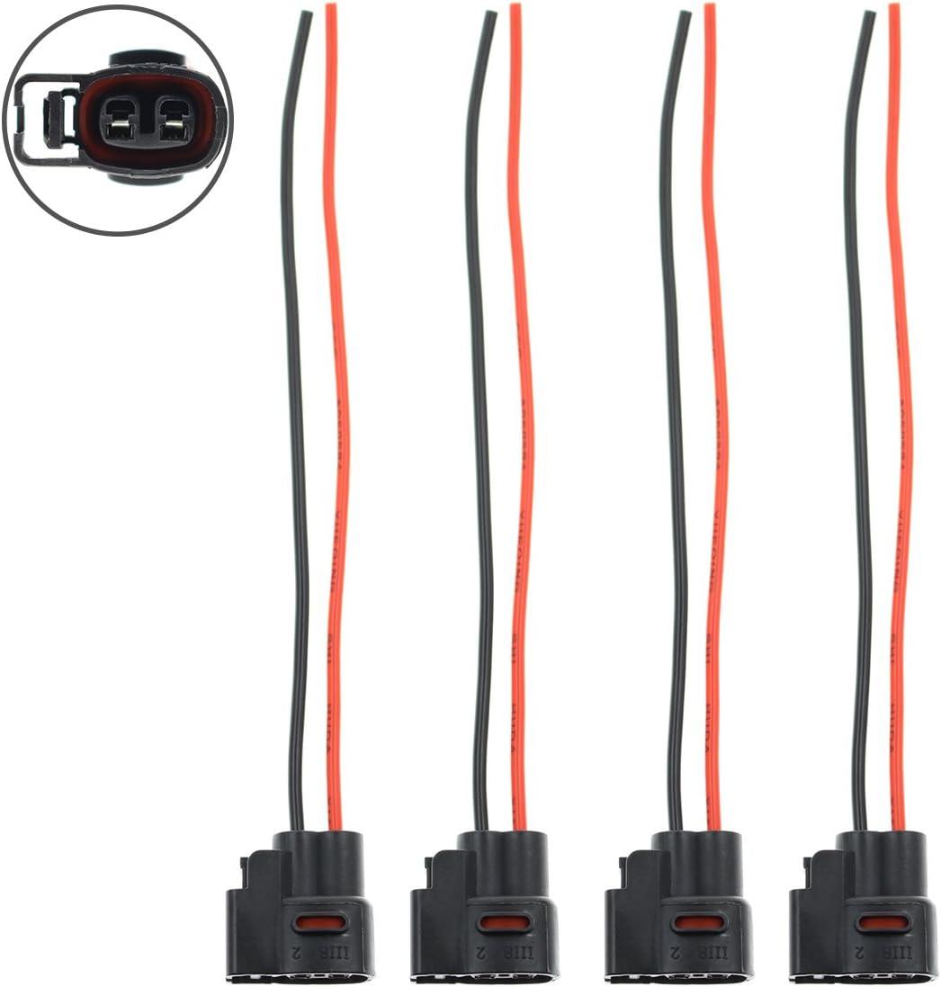 6 Ignition Coil Connector Pigtail Plug 1jzgte 2jzgte 1JZ-GE 1JZJZ-GTE Mazda RX7