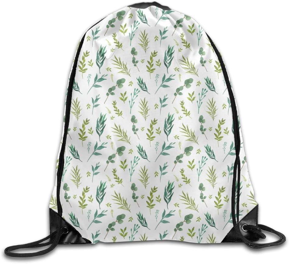 Folding Sport Backpack Portable Casual Daypacks Gym Bag Cactus Leaves