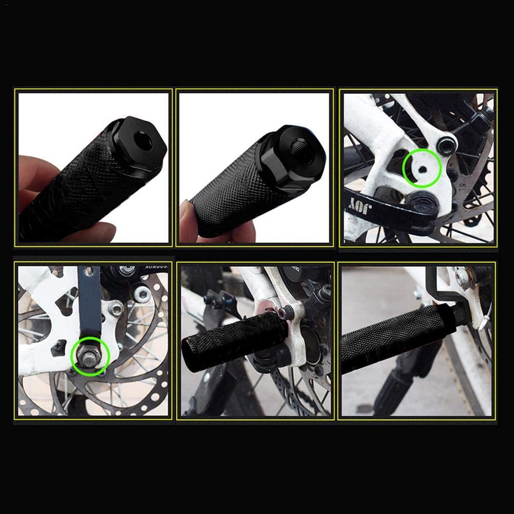 Famed Bike Pegs Aluminum Alloy Anti-Skid Lead Foot Bicycle Pegs BMX Pegs For Mountain Bike Road Bicycle Cycling Rear Stunt Pegs