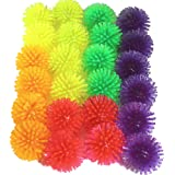 Bonka Bird Toys Soft Colorful Spike Balls Beak Feet Foot Parrot Quaker Budgie Finch Dove Lovebird