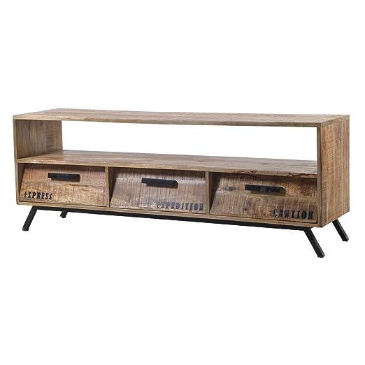Desconocido Mueble de TV TV Tarjeta ROM sdal, Retro Vintage Diseño ...