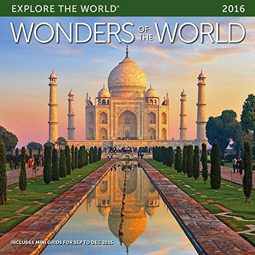 Wonders of the World Wall Calendar by Ziga Media, LLC