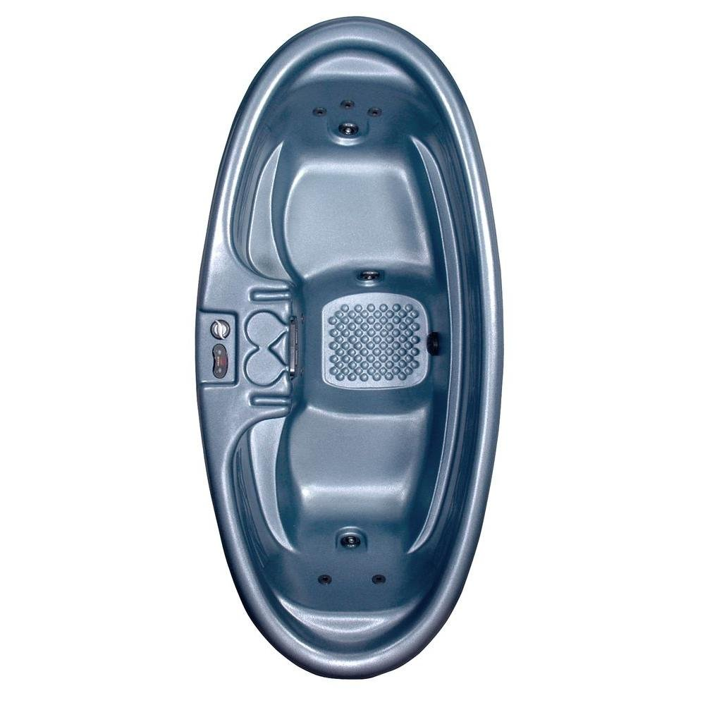 Amazon.com : Capri 2-Person Plug and Play 8-Jet Spa with Dual-Level ...