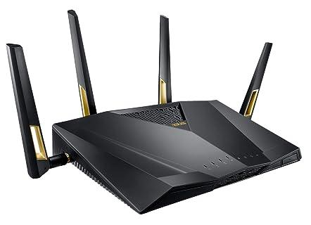 ASUS 次世代の超高速 ゲーミング Wi-Fi ルーター RT-AX88U 11ax 4804 + 1148Mbps 【 PS4 / Wii U/iPhone 対応 】