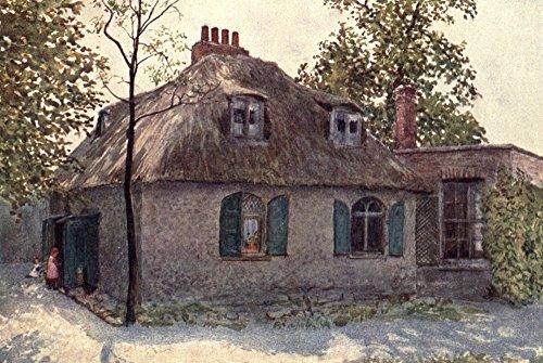 Paddington Green - London Vanished & Vanishing 1905 Cottage nr Paddington Green Poster Print by Philip Norman (18 x 24)