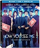 Now You See Me 2 [Blu-ray + DVD + Digital HD]