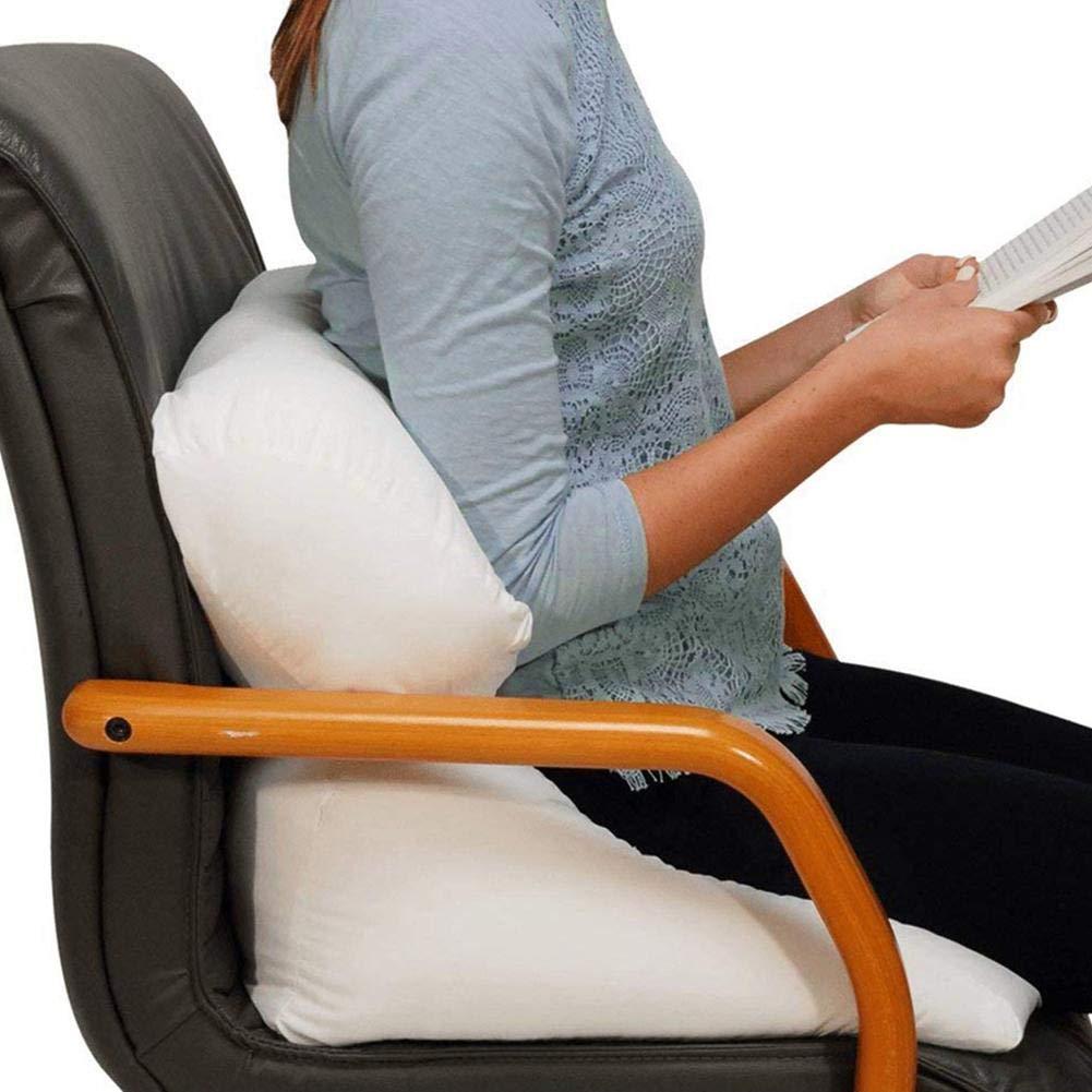 smilerr Cuscino di Vibrazione Multifunzionale 10-in-1 Cuscino di Vibrazione Schienale Cuscino di Sostegno Cuscino Morbido per Letto Cuscino in Memory Foam Cuscino per Schienale e Gambe Amazing