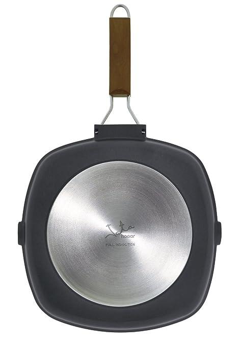 Jata Hogar GMA28 Kilimanjaro Grill, Aluminio, Negro, 28 cm: Amazon ...
